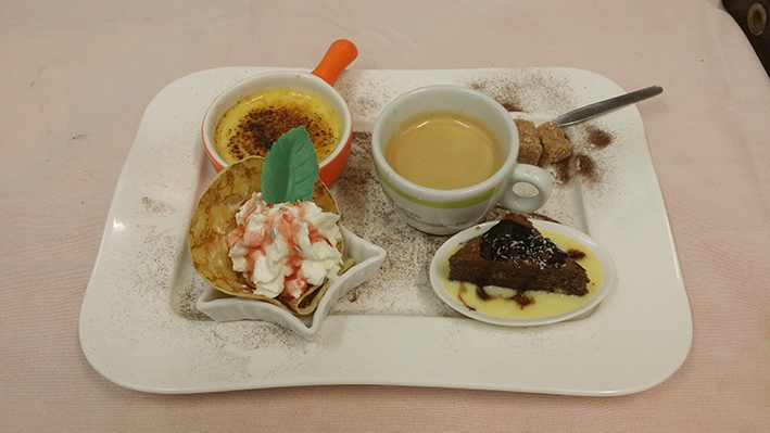 dessert restaurant Fontenay-le-Comte La paillote